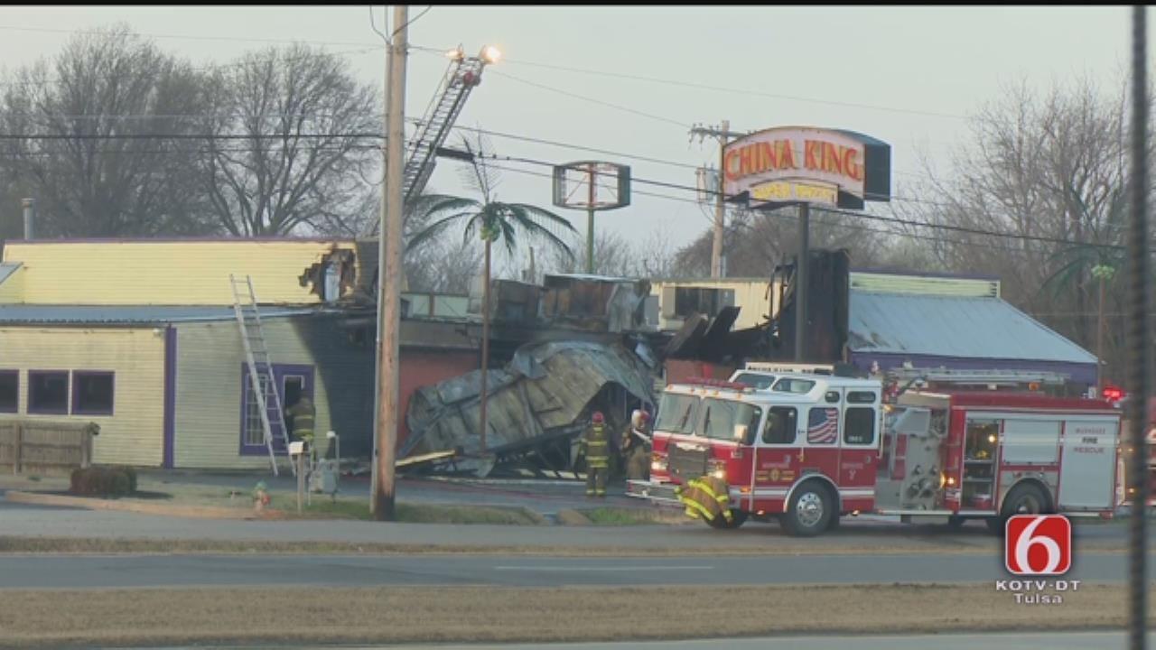 Muskogee Restaurant Damaged In Fire