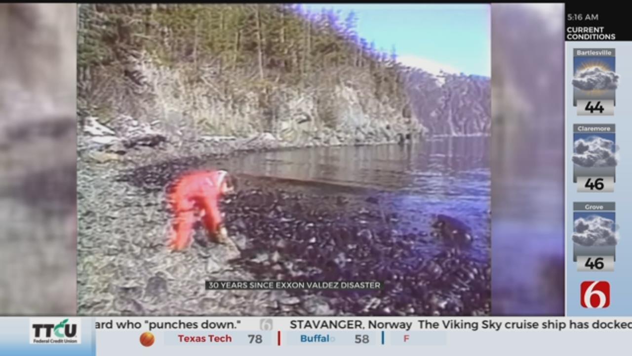 Remembering Exxon Valdez Oil Spill 30 Years Later