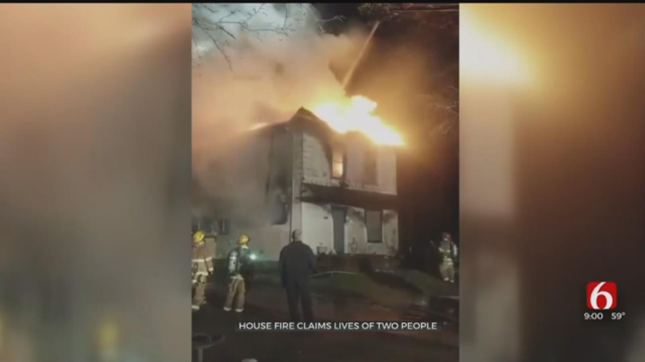 2 Killed In Muskogee House Fire