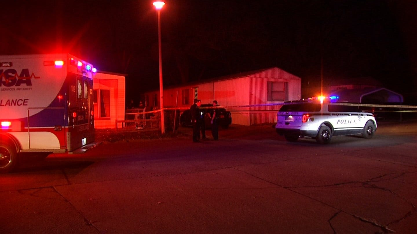 1 In Custody After Shooting In Tulsa Mobile Home Park