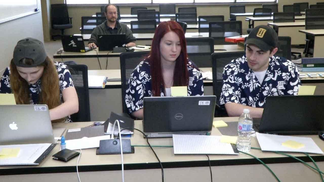 Cyber Defense Competition Underway In Tulsa