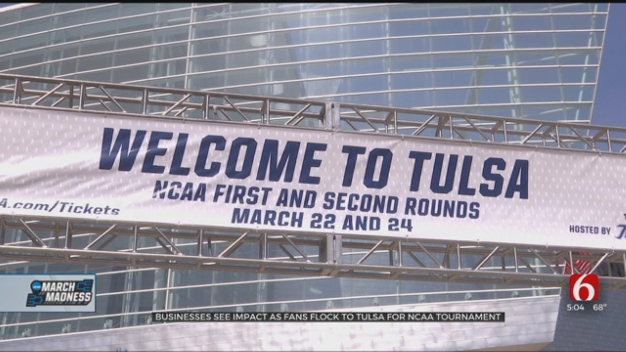 March Madness Gives Tulsa Chance To Show Off