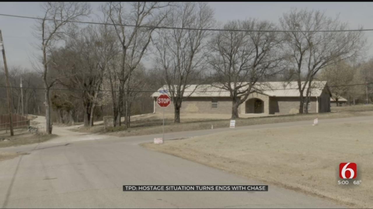 Catoosa Chase, Kidnapping Ends Near Arkansas River