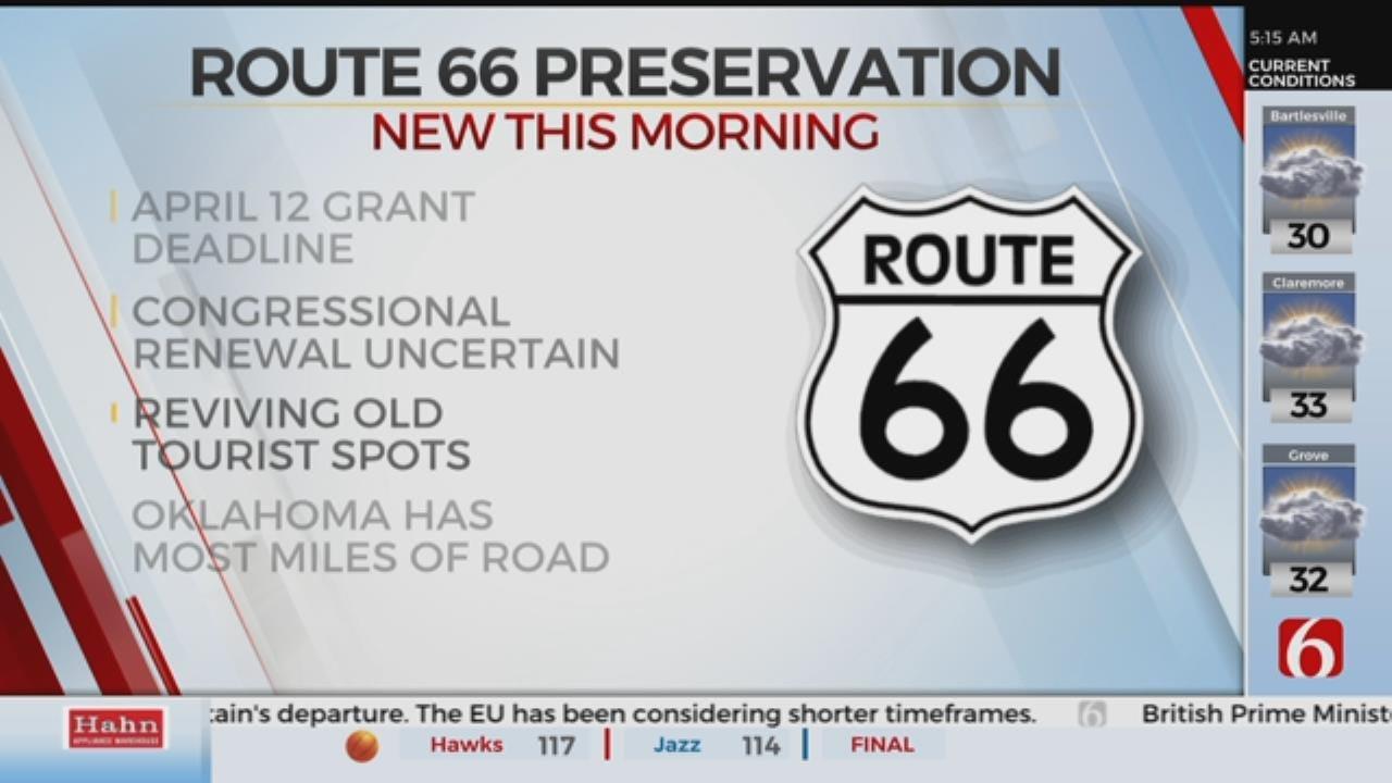 Route 66 Grant Program Could End