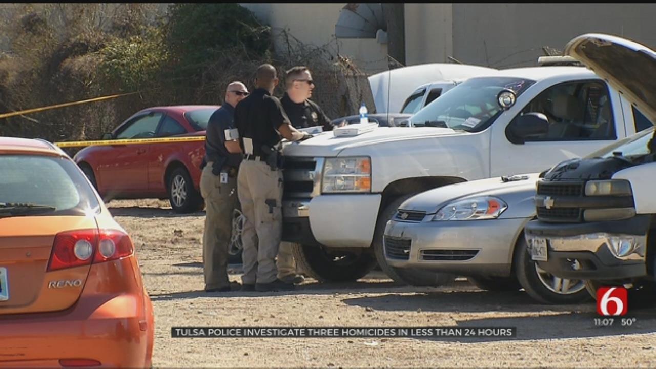 Tulsa Police Investigate 3 Murders In 24 Hours
