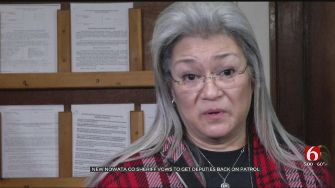 Nowata County's Interim Sheriff Hopes To Turn Things Around