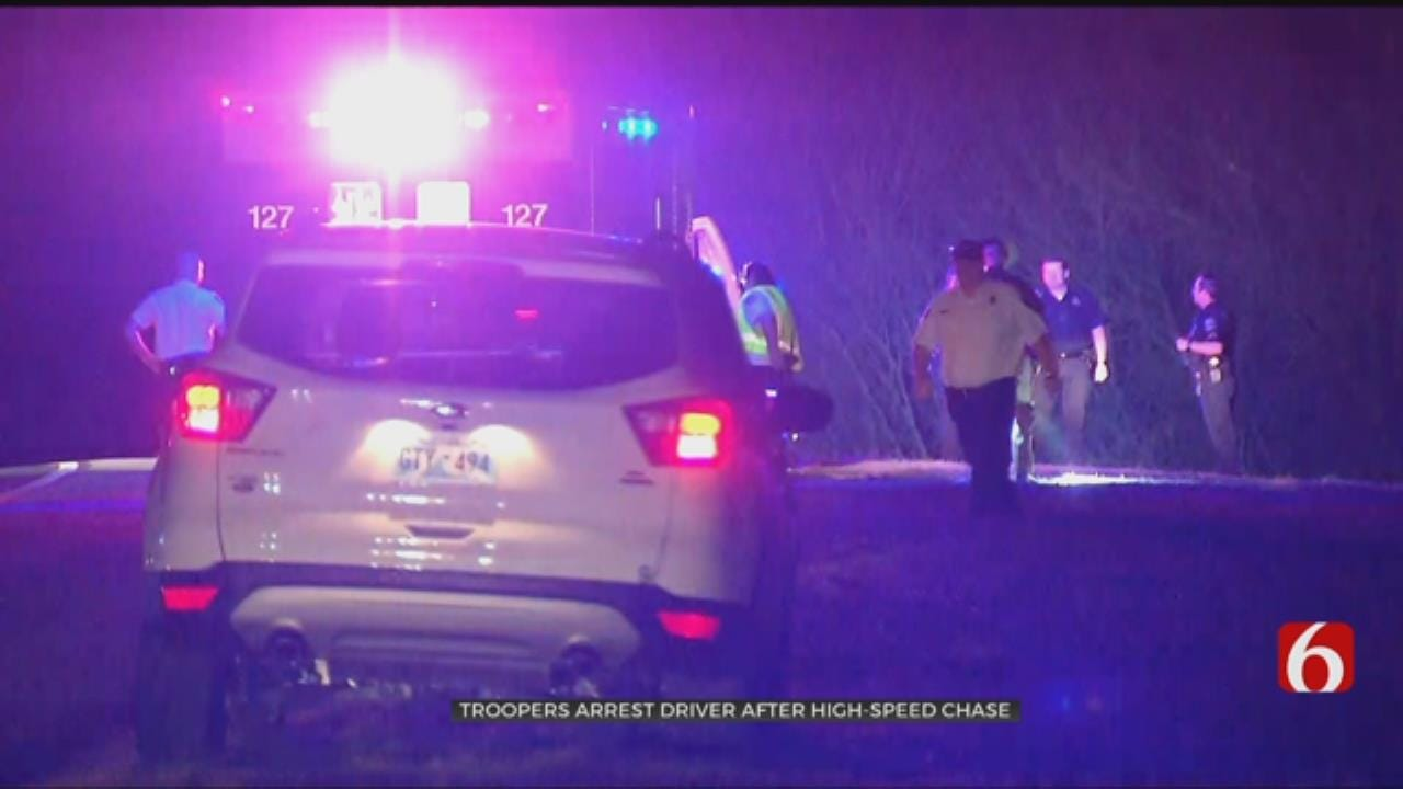 Tulsa Chase Ends With 1 Person Arrested