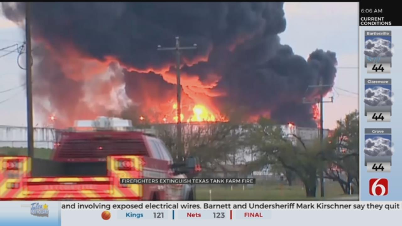 Residents Near Texas Chemical Plant Fire Raise Health Concerns