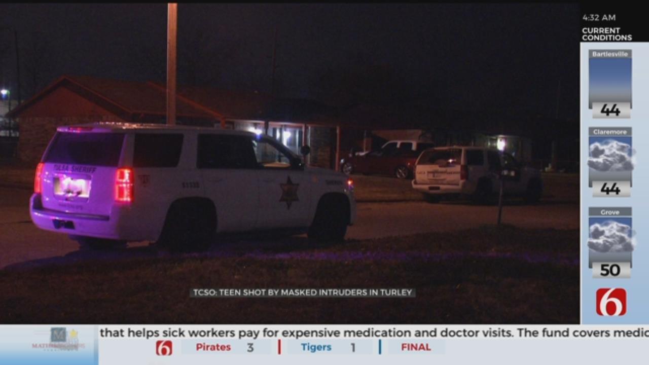 1 Shot After 3 Men Wearing Masks Enter Tulsa County Home