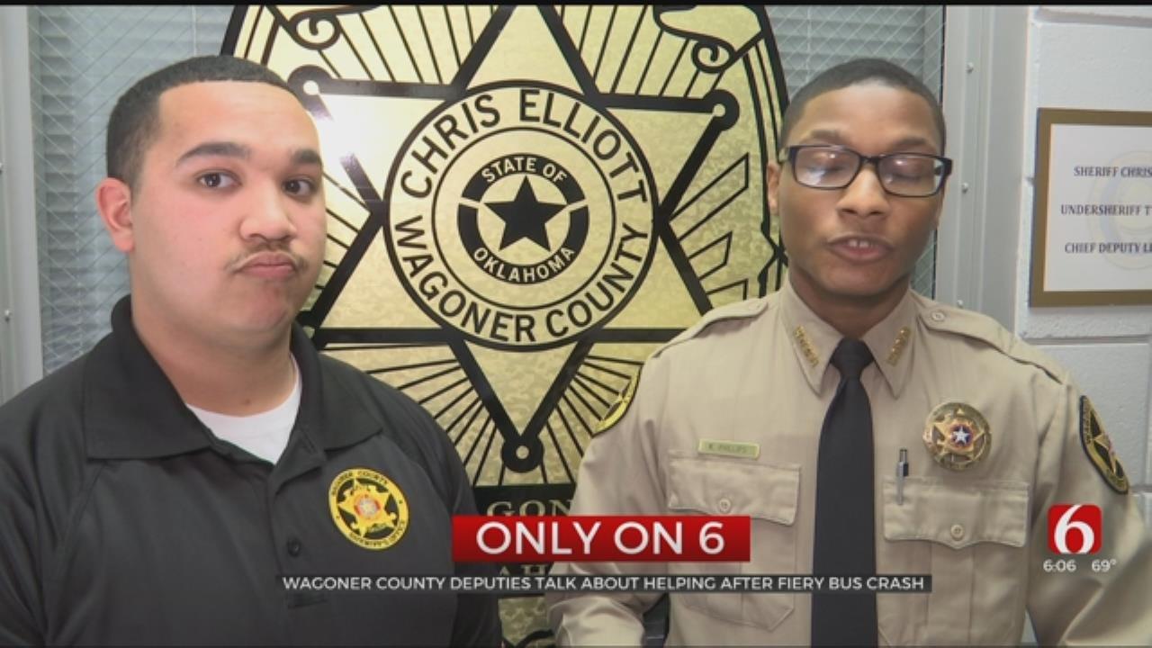 Wagoner Deputies Share Their Story Of The Fatal Konawa Bus Crash
