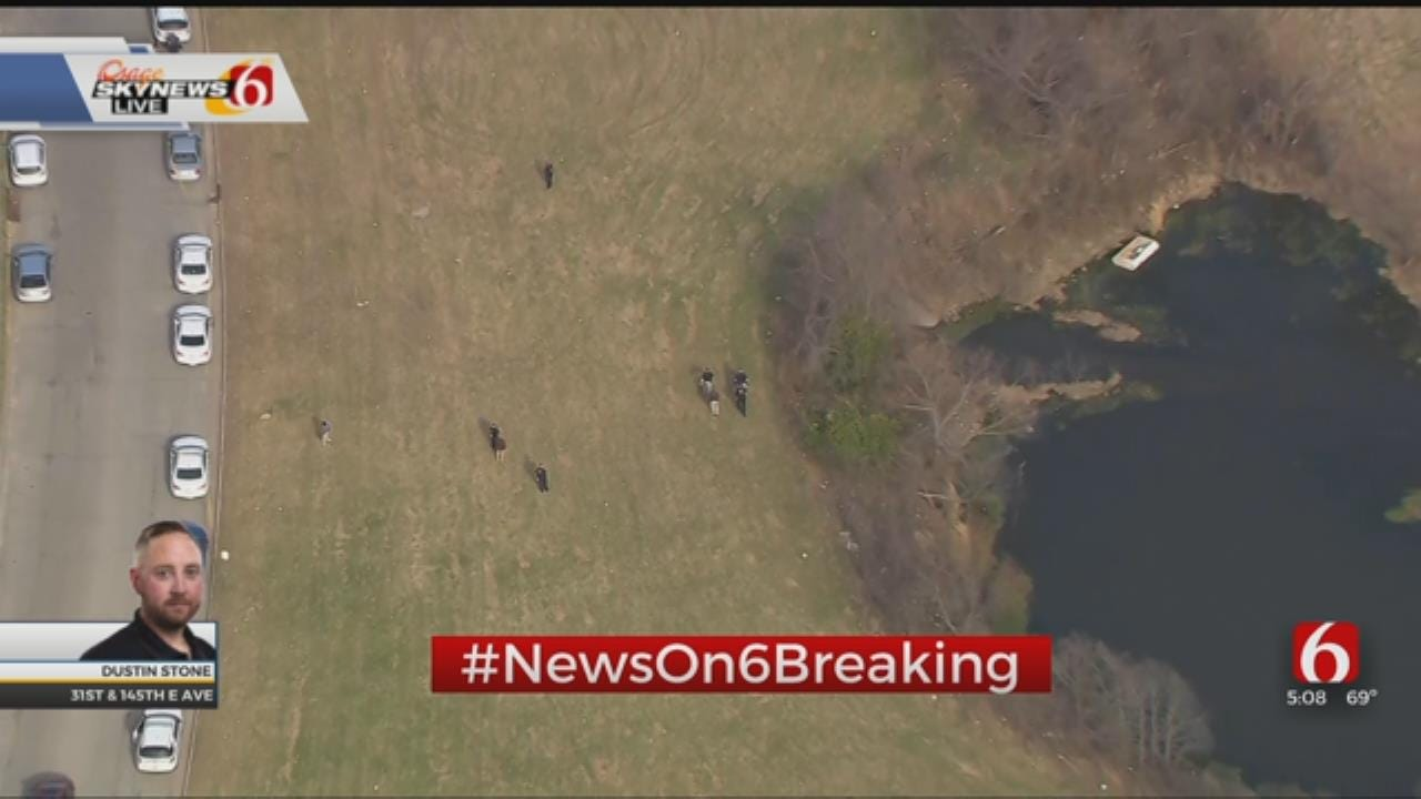 Police Find Body In Small Tulsa Pond