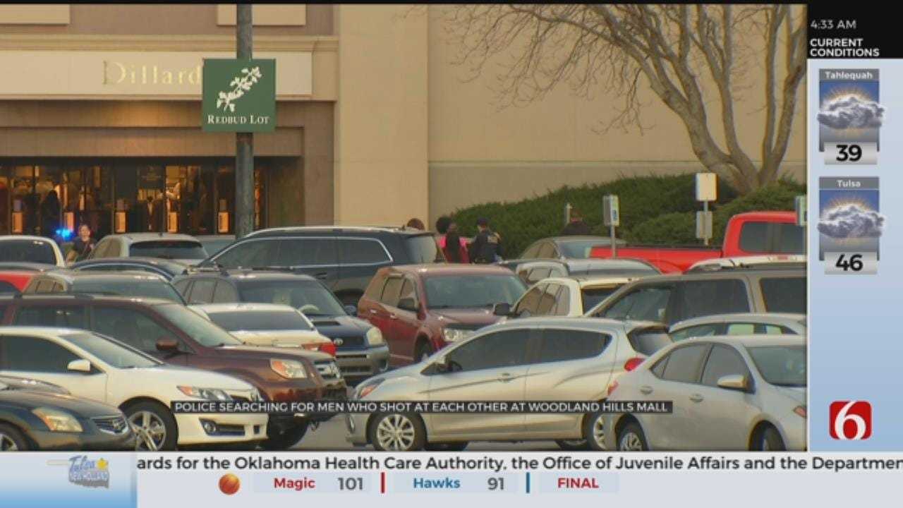 Tulsa Police Search for Woodland Hills Mall Shooting Suspects
