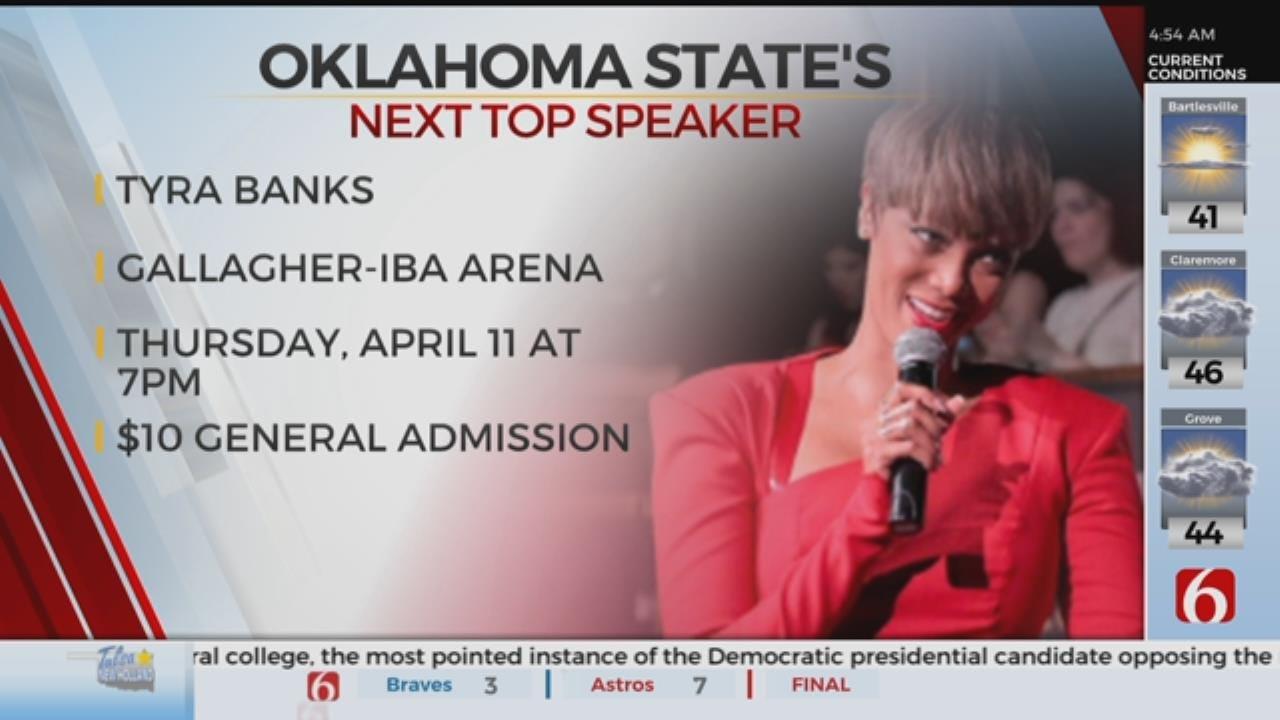 Tyra Banks Comes To OSU
