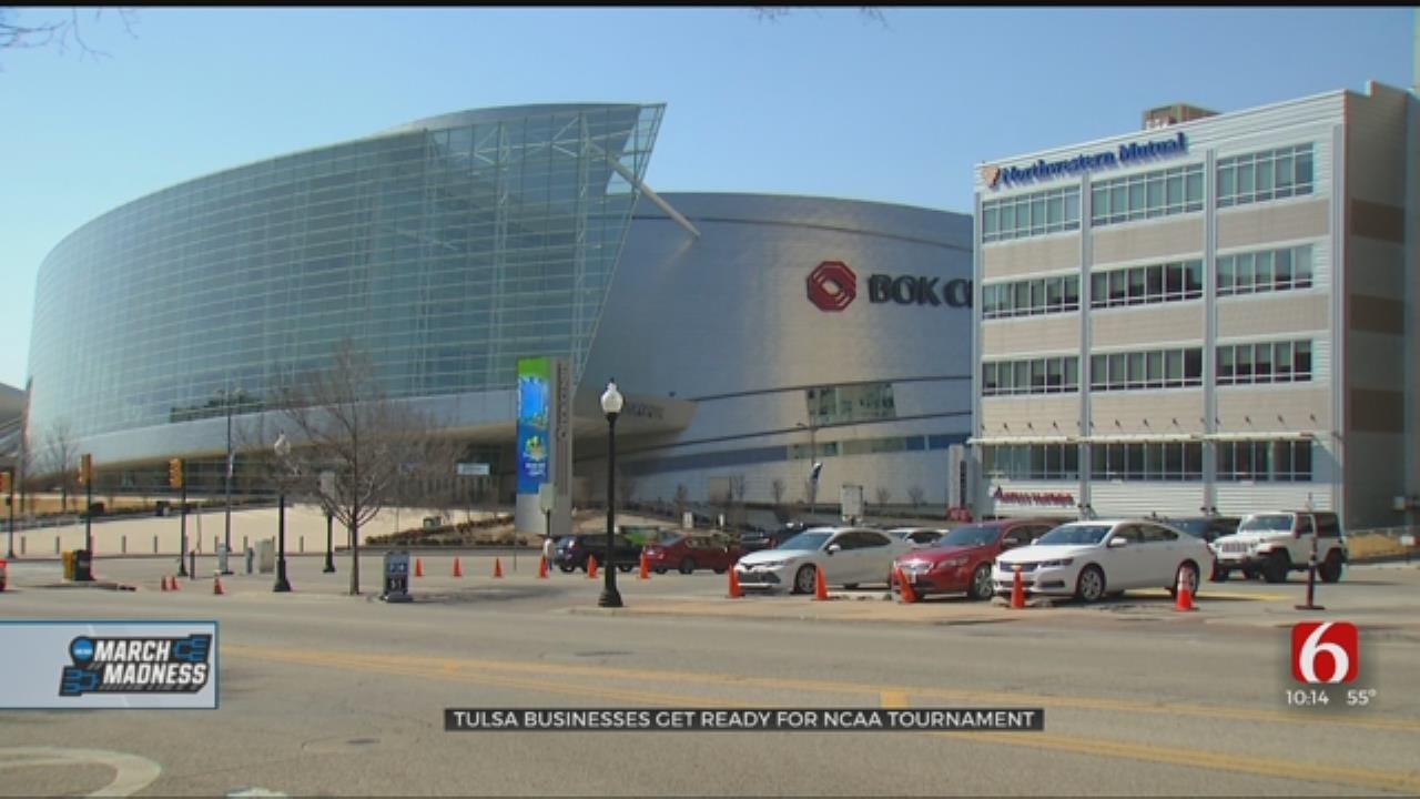 Tulsa Businesses Preparing For NCAA Tournament