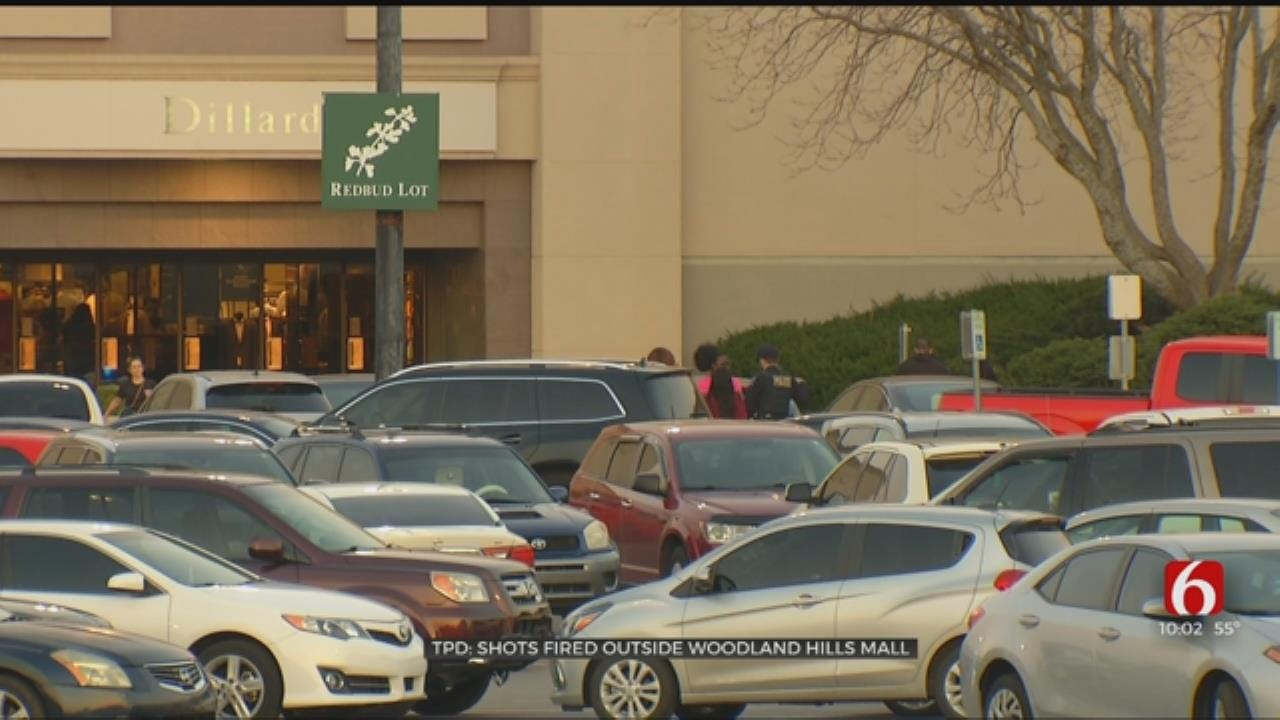Tulsa Police Investigating Shots Fired Outside Woodland Hills Mall