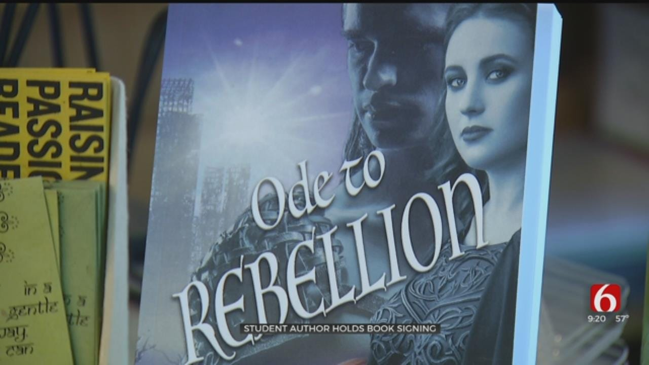 TPS Student Celebrates Debut Of First Book
