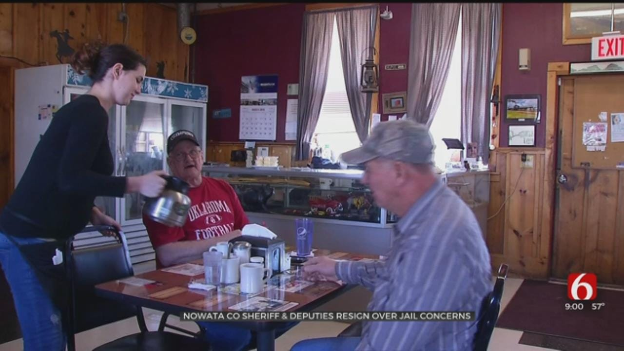 Community Reacts After Nearly Entire Nowata County Sheriff's Office Resigns