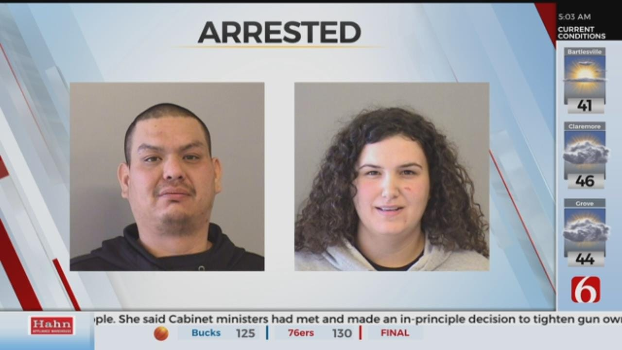 2 Arrested After Assaulting Group With Baseball Bat