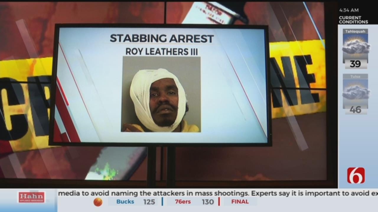1 Arrested After Stabbing Father, Police Say