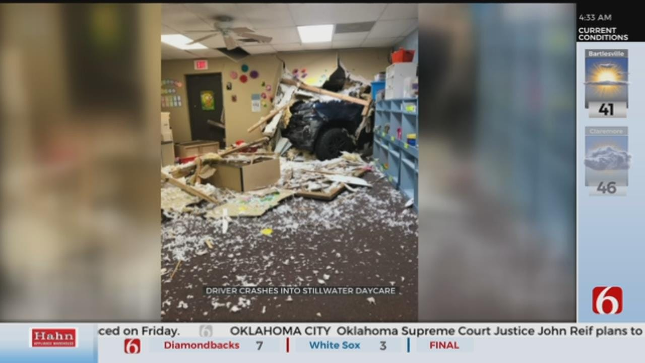 Car Crashes Into Stillwater Day Care