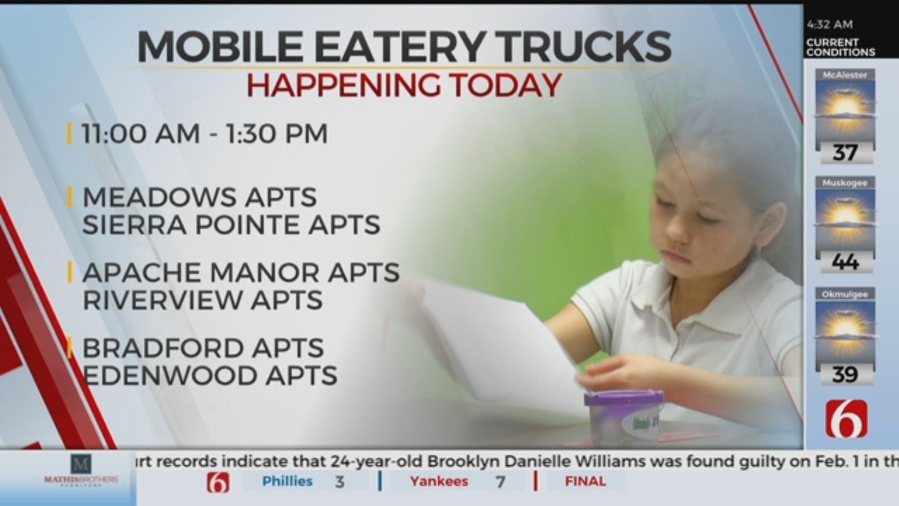 Mobile Eatery Trucks Provide Spring Break Meals