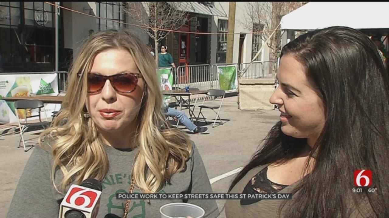 Tulsans Celebrate St. Patrick's Day Downtown