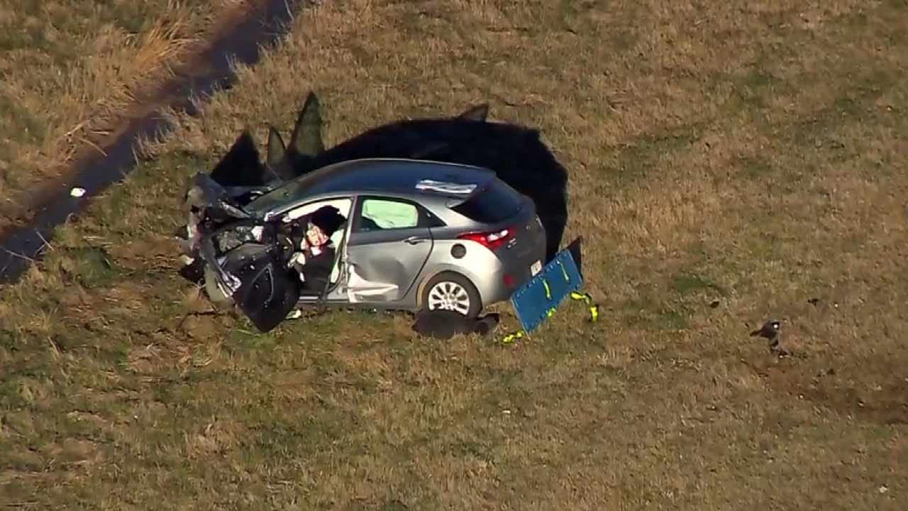 Two People Critically Hurt In Crash Near Verdigris