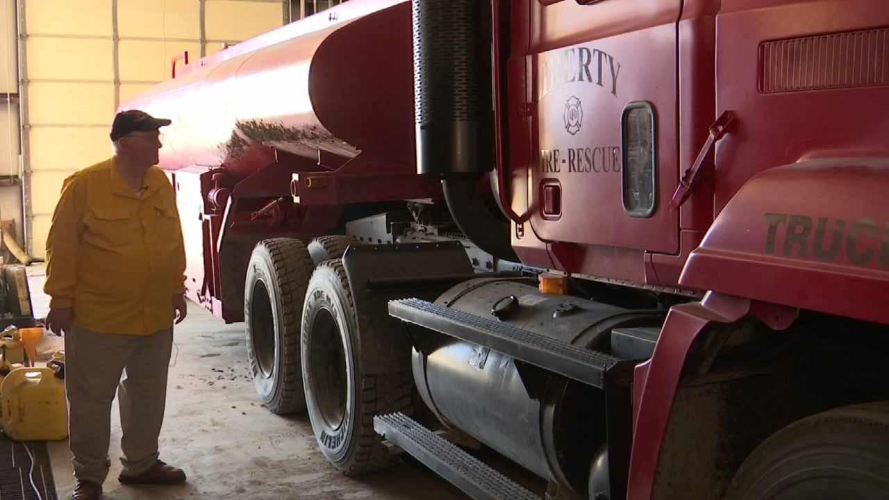 Thieves Target Oklahoma Volunteer Fire Department