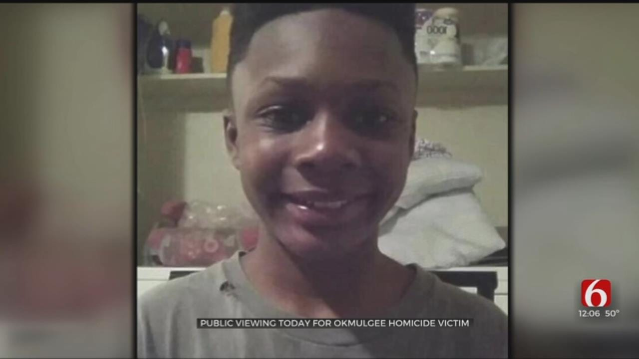 Public Viewing Held For 12-Year-Old Okmulgee Shooting Victim