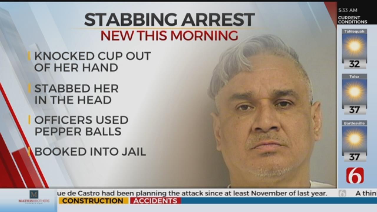 Broken Arrow Man Arrested After Stabbing