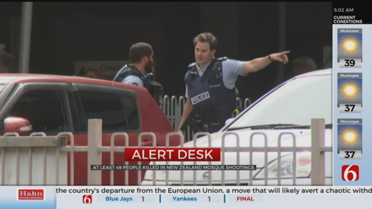 New Zealand Shooting: 49 Dead, Dozens More Injured In Two Mosque Shootings