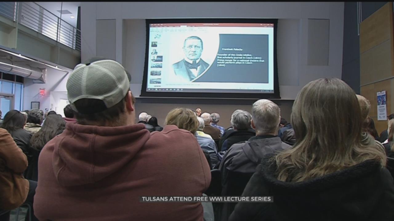 Tulsa World War I Lecture Draws Big Crowd