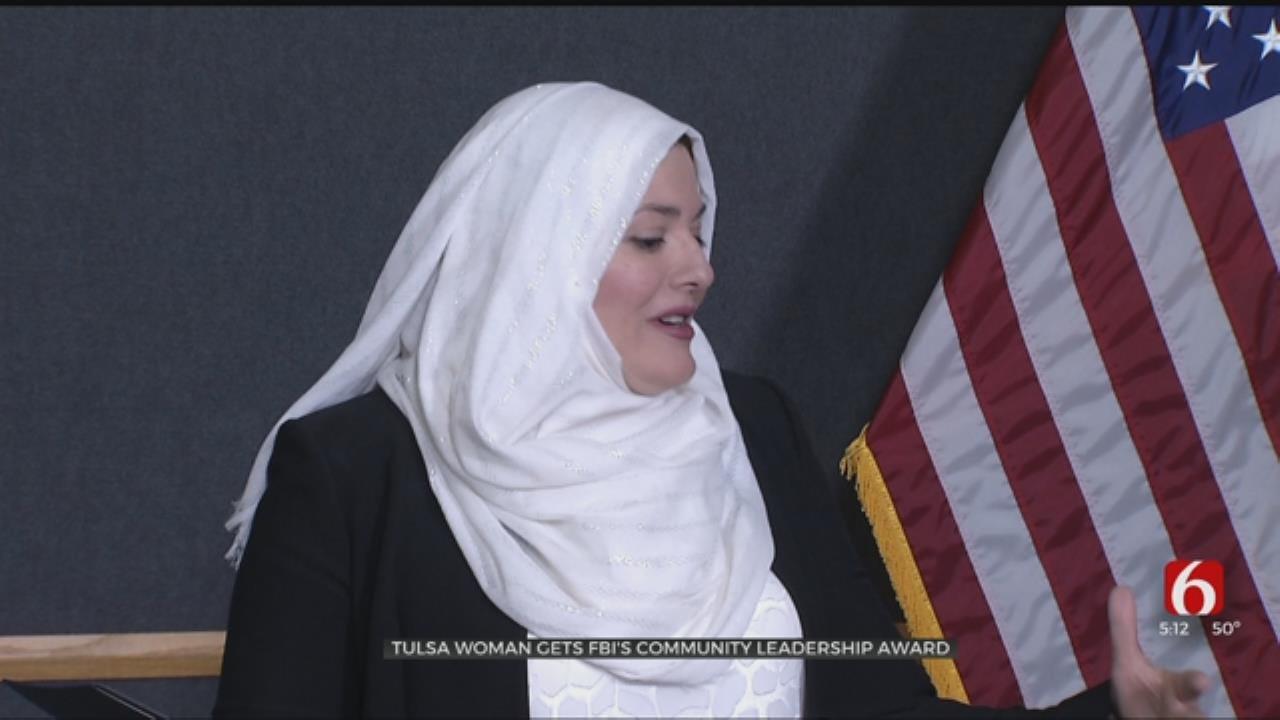 Tulsa Woman Gets FBI's Community Leadership Award