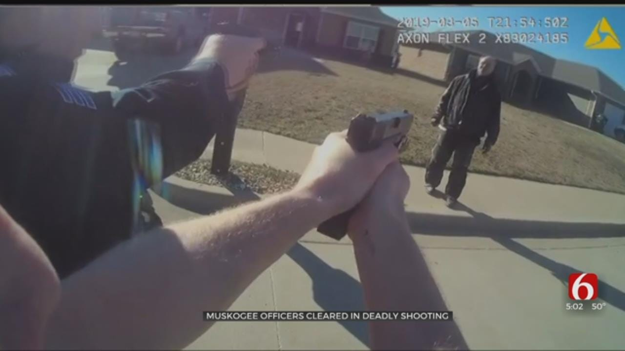 DA: Muskogee Officers Justified In Shooting Death Of Brogdon