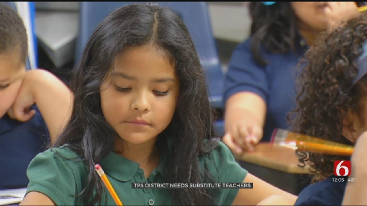 Substitute Teachers Needed, Says Tulsa Public Schools