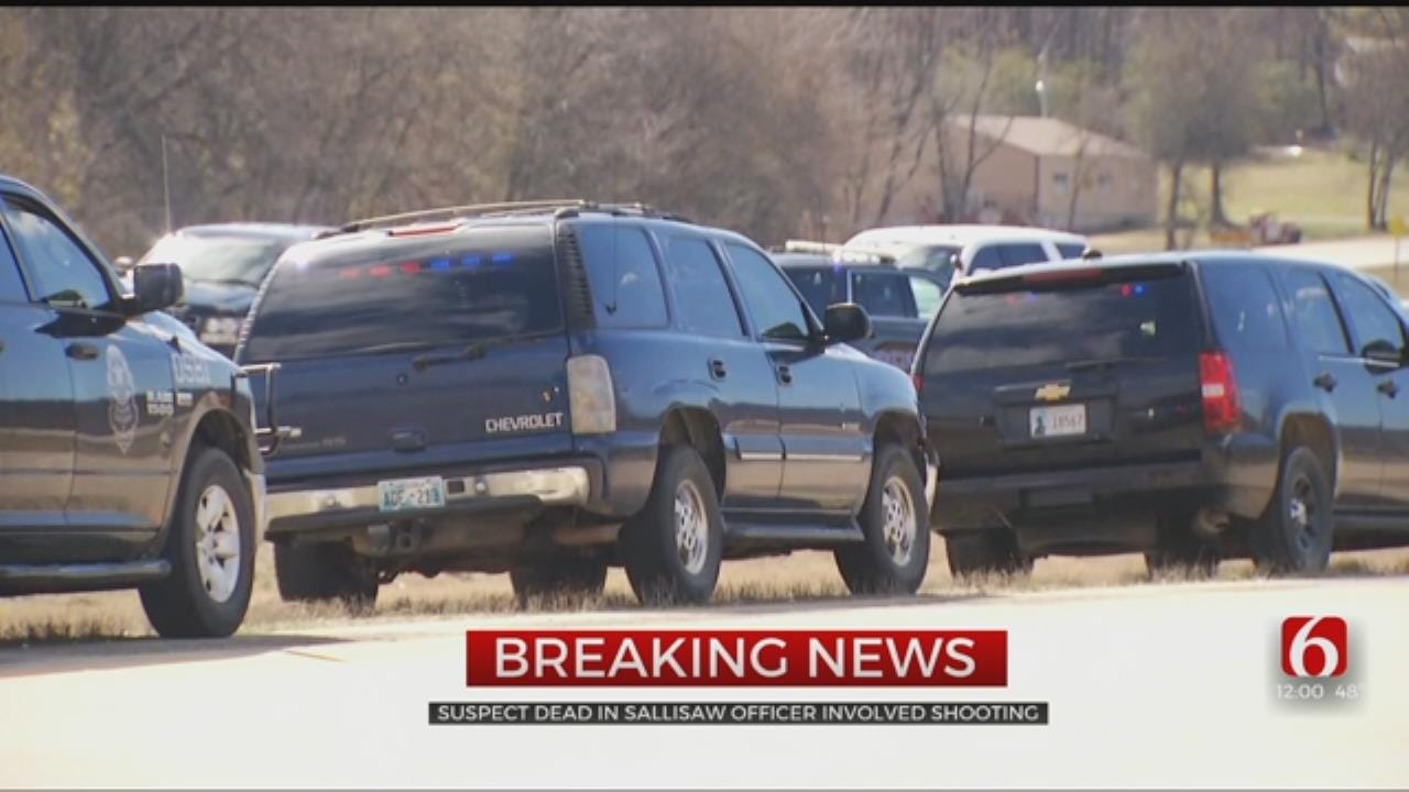 Officer Involved Shooting Near Sallisaw Leaves Suspect Dead