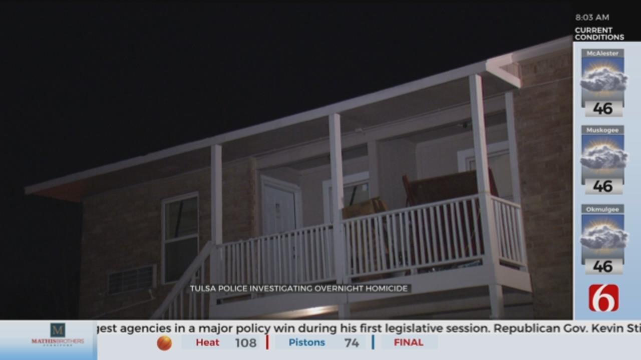 Tulsa Police Investigate City's 8th Homicide