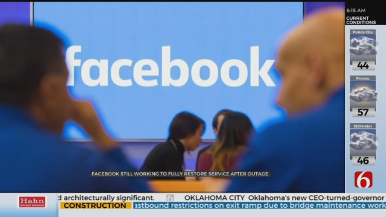 Facebook Experiences Largest Outage