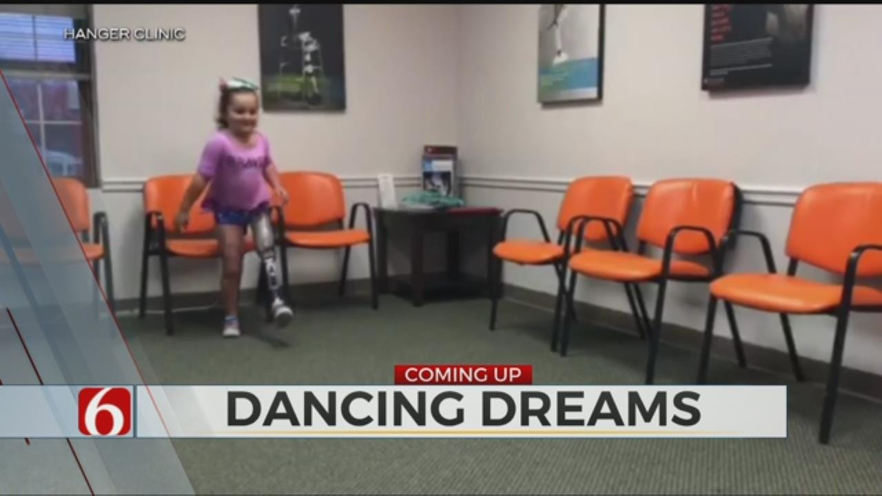 8-Year-Old dancer Refuses To Give Up After Losing Leg