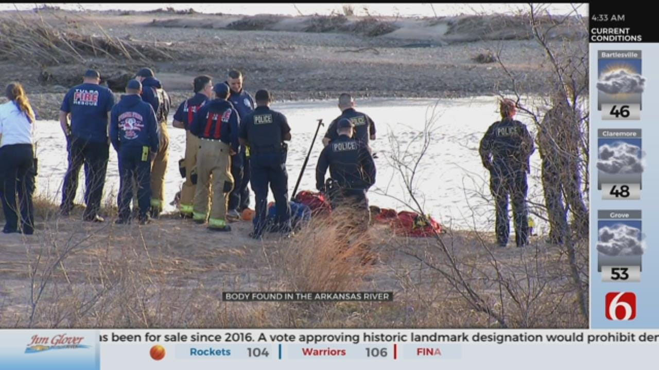 Tulsa Teenagers Find Body In The Arkansas River