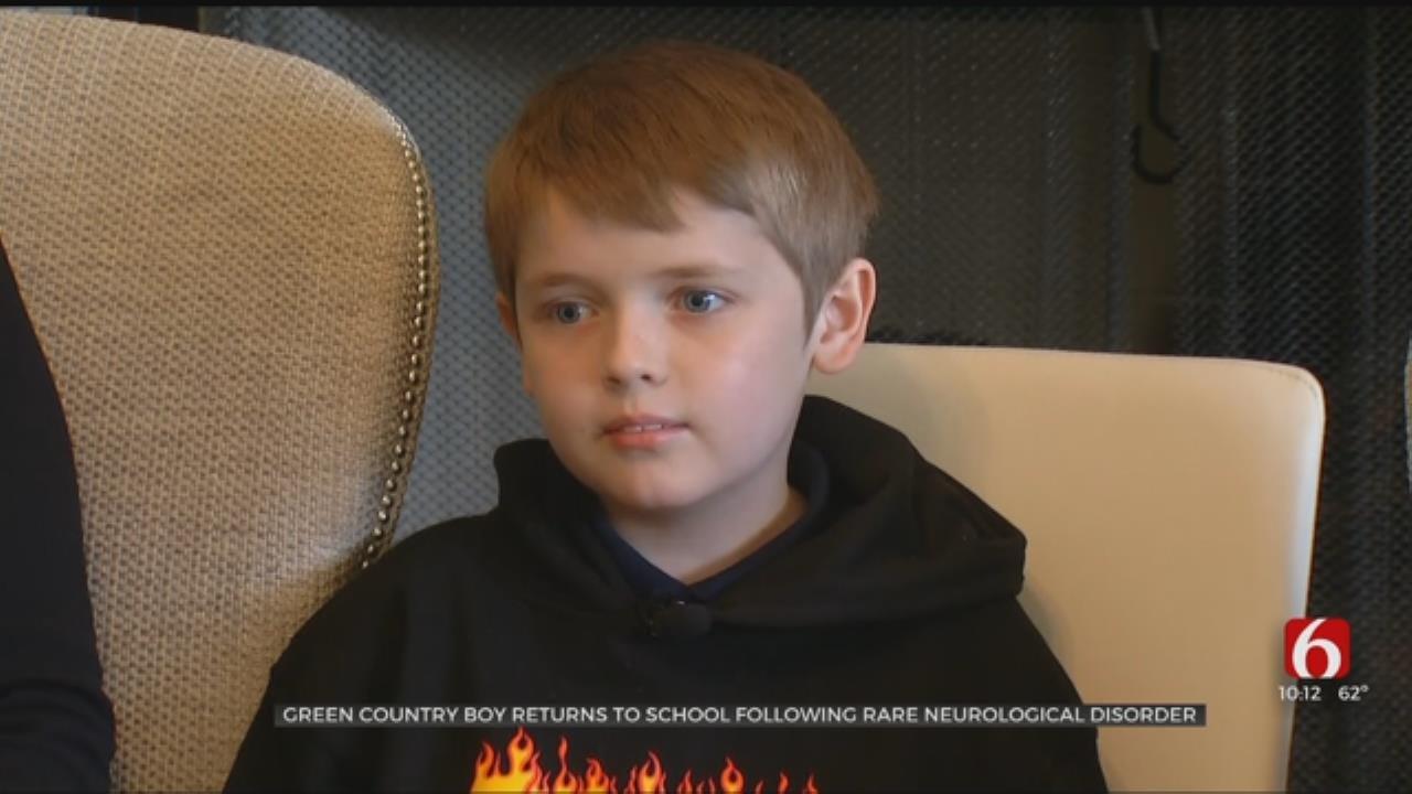 Tulsa County 3rd-Grader Returns To School After Battling Rare Form Of Meningitis
