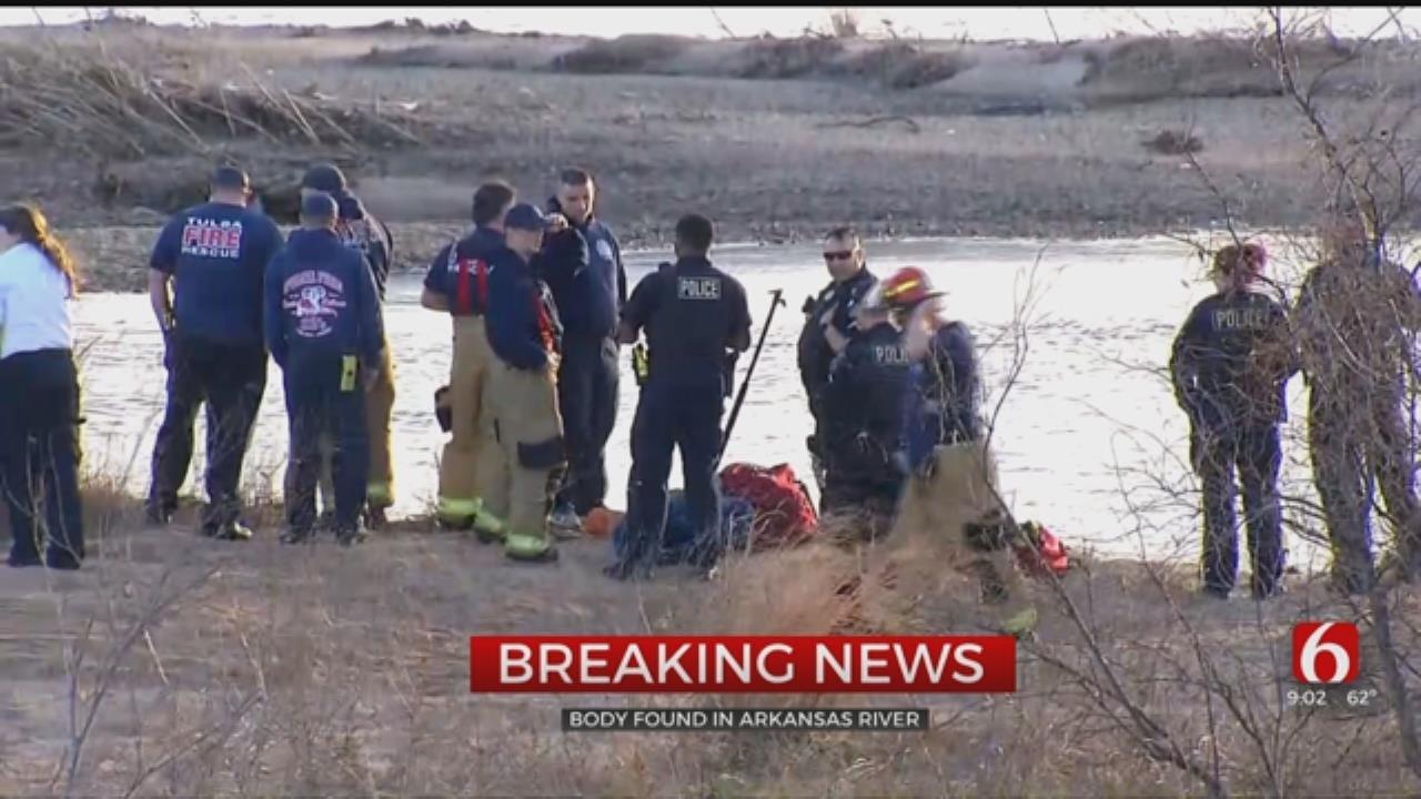 Body Found In The Arkansas River In Tulsa