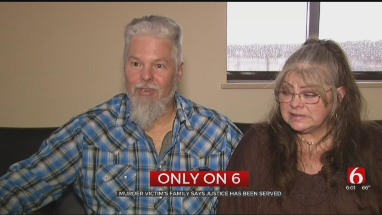 Murder Victim's Family Says Justice Has Been Served