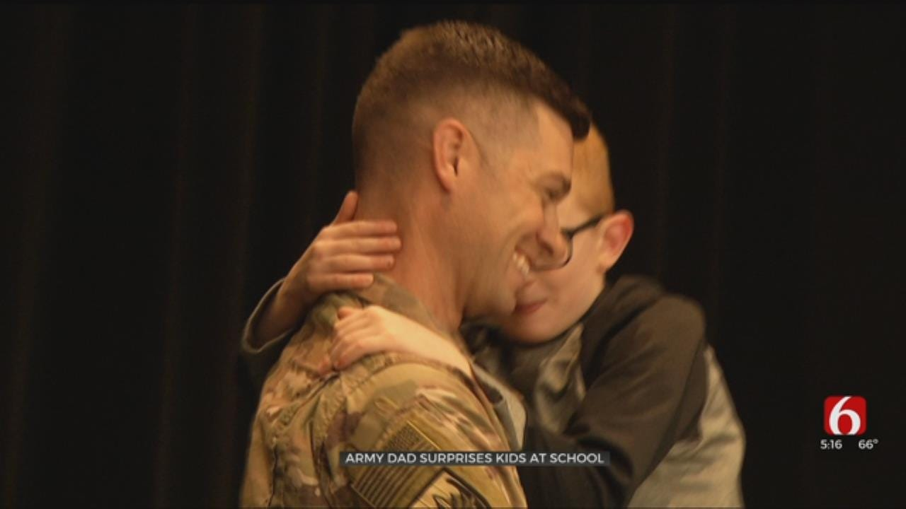 Broken Arrow Soldier Returns Home For Heartwarming Surprise