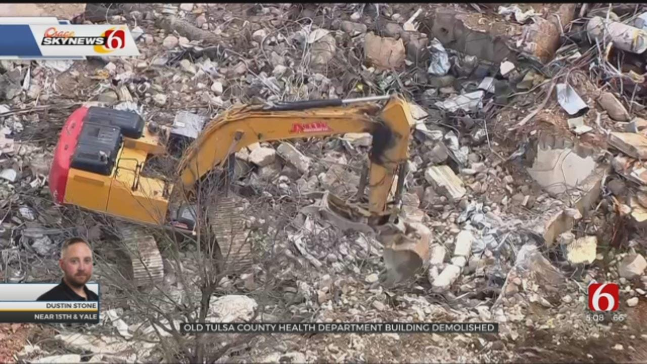 Old Tulsa County Health Department Building Demolished