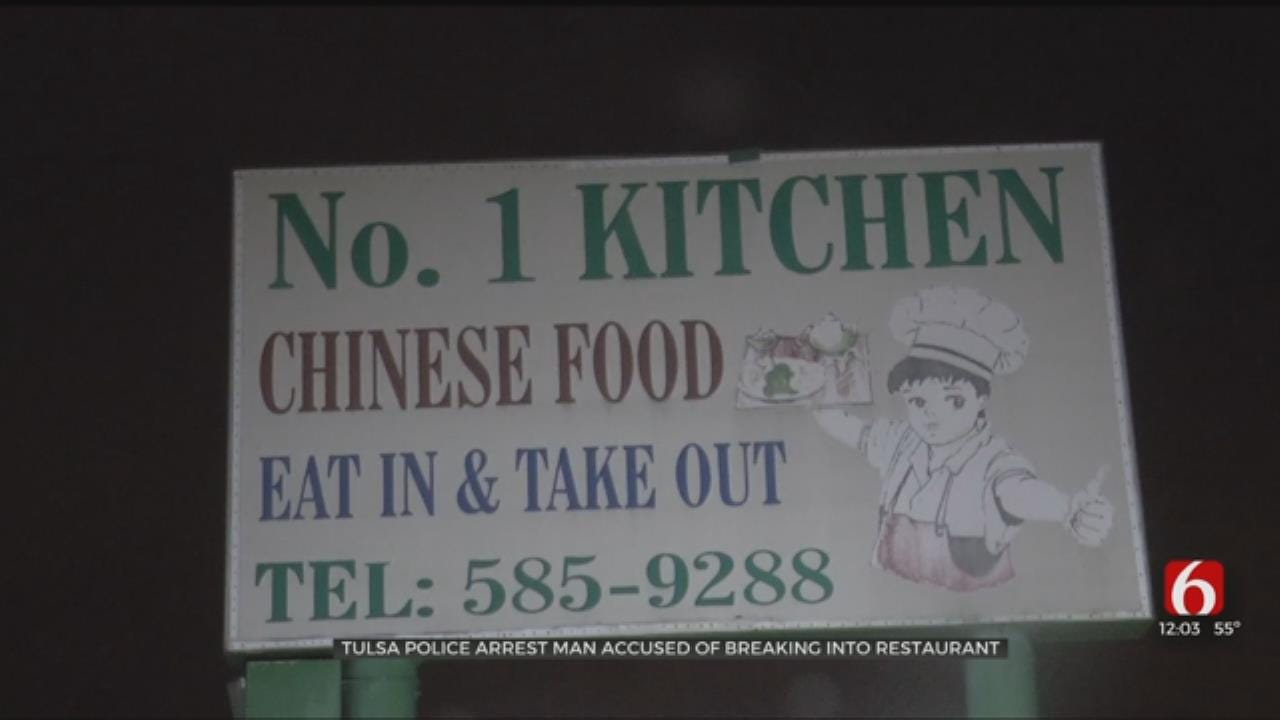 1 Arrested After Tulsa Restaurant Burglary
