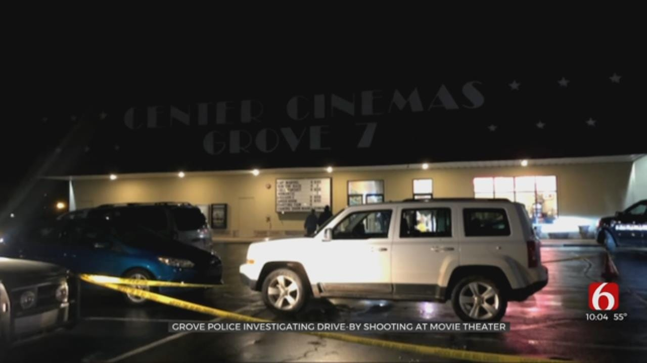 Police Investigating Drive-By Shooting At Grove Movie Theater