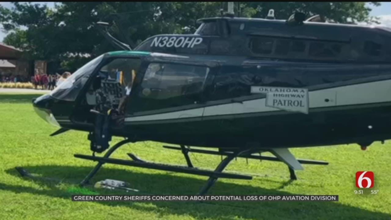 Governor To Possibly Disband Oklahoma Highway Patrol's Aviation Unit