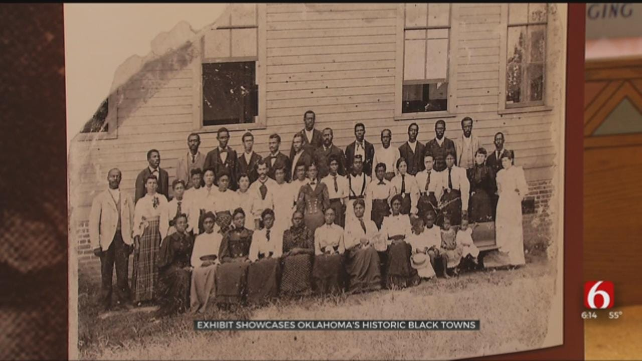 Sand Springs Museum Hosts Exhibit Highlighting History Of Black Towns In Oklahoma