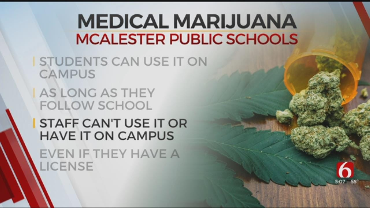New Policy: McAlester Students Can Use Medical Marijuana On Campus